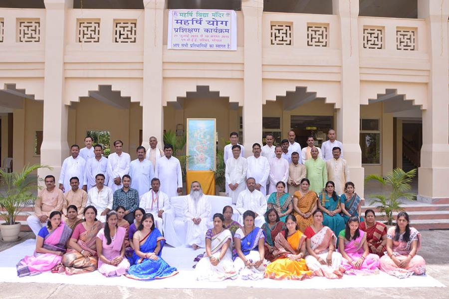 Yogasana Course July 2015 First Yogasana Instructors Training Course was organised from 21 July to 10 August 2015 at Bhopal. 40 participants successfully completed the course and became Yoga Instructors